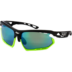 Rudy Project Fotonyk Gafas, matte black/lime/polar3FX HDR multilaser green